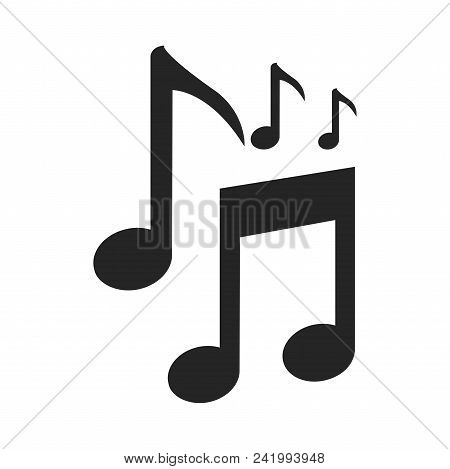 Musical Notes Icon Simple Vector Sign And Modern Symbol. Musical Notes Vector Icon Illustration, Edi