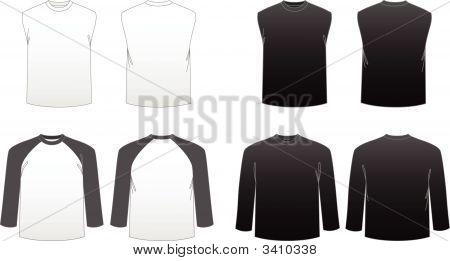 Men'S T-Shirt Templates-Series