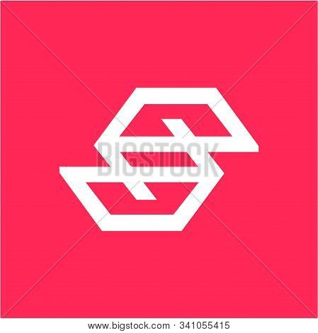 Eg, Ep. Pe. Ese, Psp Initials Geometric Company Logo