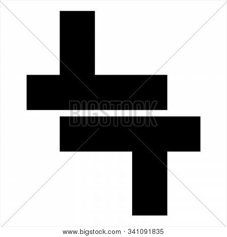 Lt, Tt Initials Geometric Letter Company Logo And Vector Icon