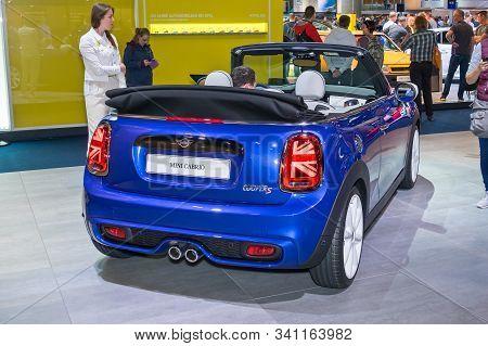 Frankfurt-september 19: Mini Cooper Cabrio At The Frankfurt International Motor Show On September 19