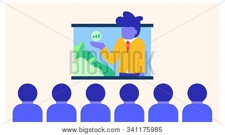 Online Conference Vector Design Is Easy To Apply. For Presentation, Information Needs.