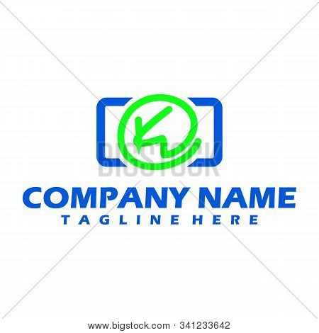 K Dots Logo Design Template. Hexagon K Icon. K Letter Logo Vector. Hexagon Logo. K Letter. K Dots. K