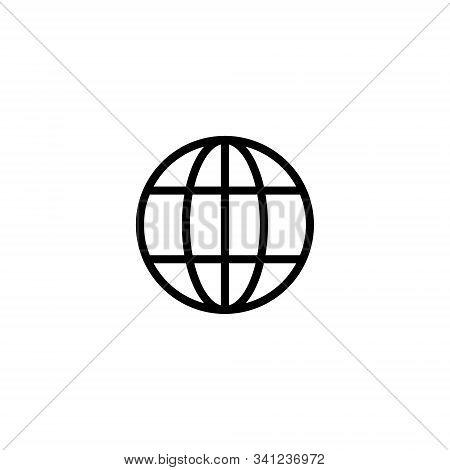 Website Online Internet Icon Vector Global Url. Web Url Icon