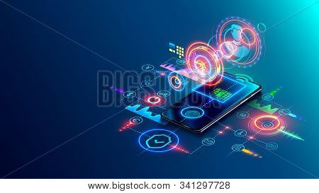 User Two-factor Authentication Technology Via Mobile Phone. Identification Human In Mobile Bank For