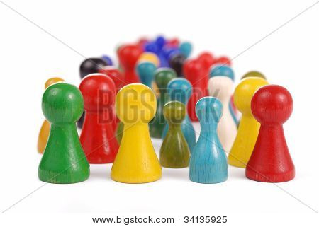 Pawn crowd