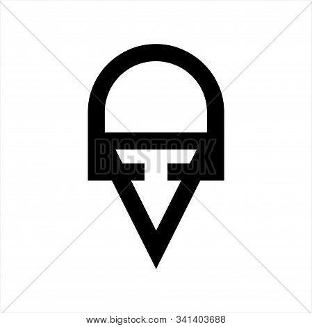 Line Art Oav, Va, Av Initials Company Logo