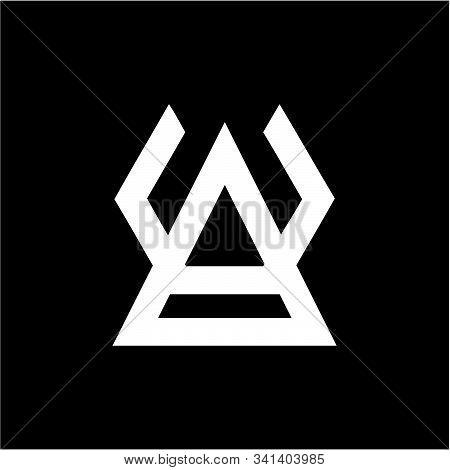 Ua, Va, Av, Au Initials Company Logo