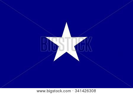 A Depiction Of The Bonnie Blue Flag The Unofficial Banner Of The Confederate States Of America