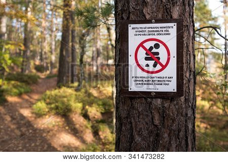 Please Do Not Shit In The Forest