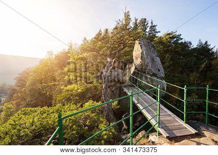 Zahradka Viewpoint In Mala Skala In The Bohemian Paradise