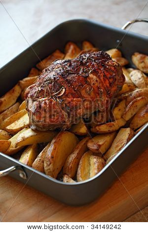 Roast Of Lamb