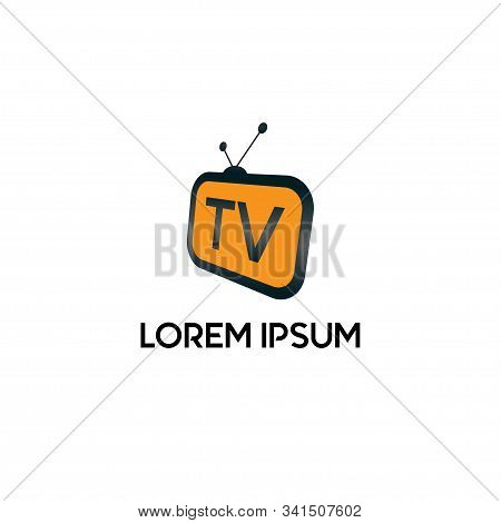 Live Streaming, Online Television, Web Tv, Simple And Clean Logo Concept, Abstract, Alphabetic, Brow