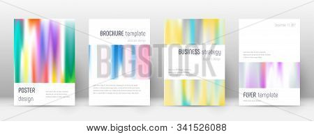 Flyer Layout. Minimalistic Glamorous Template For Brochure, Annual Report, Magazine, Poster, Corpora