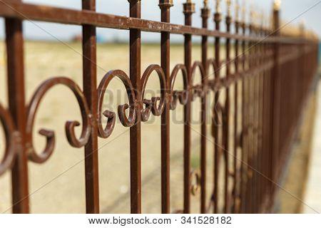 Wrought Iron Fence, Decorative Wrought Iron Fence.