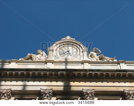 Milan Liberty Clock