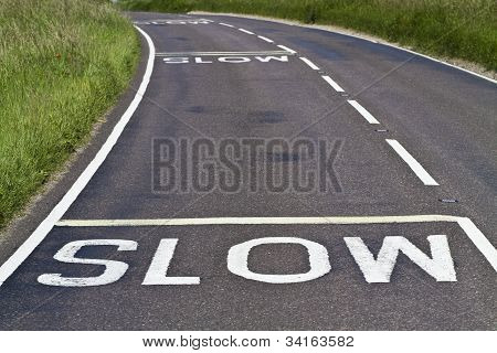 Slow Signs On The Road