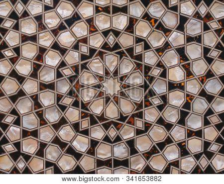 Ottoman Art Example Of Mother Of Pearl Inlays