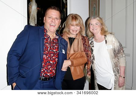 WEST HOLLYWOOD - DEC 3: Chester McCurry, Ilene Graff, Meg Thomas at a luncheon at a private residence on Dec 3, 2019 in West Hollywood, California