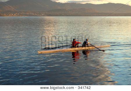 Rowing Pair