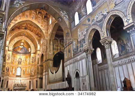 Cathedral Of Monreale. Palermo