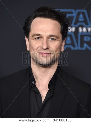 LOS ANGELES - DEC 16:  Matthew Rhys arrives for the ÔStar Wars: The Rise of SkywalkerÕ Premiere on December 16, 2019 in Hollywood, CA