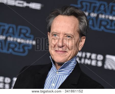 LOS ANGELES - DEC 16:  Richard E. Grant arrives for the ÔStar Wars: The Rise of SkywalkerÕ Premiere on December 16, 2019 in Hollywood, CA
