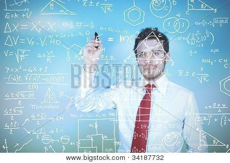 Businessman Solves Problems