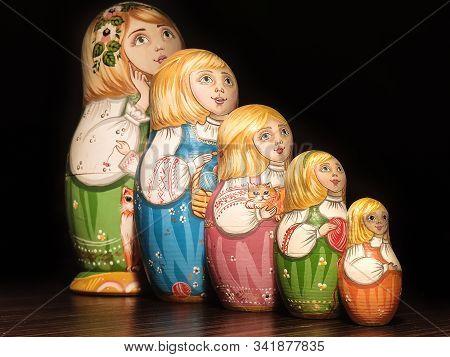 Matryoshka Doll, Russian Doll, Russian Nesting Doll, Stacking Dolls, Wooden Dolls.