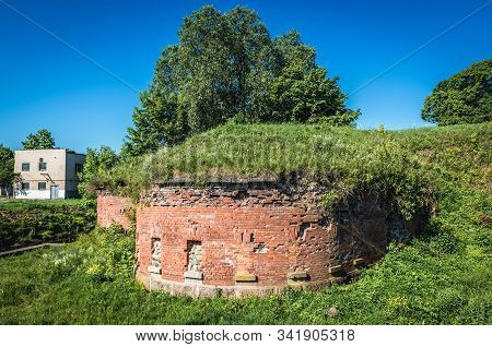Remains Of Redoubts Of Early 19th Century Daugavpils Fortress Also Known As Dinaburg Fortress In Dau