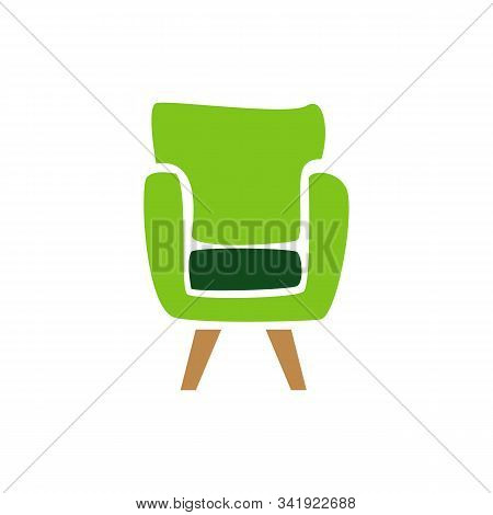 Furniture Logo Design Vector Symbol And Icon Of Chairs Sofas Tables Home Interior Furnishings