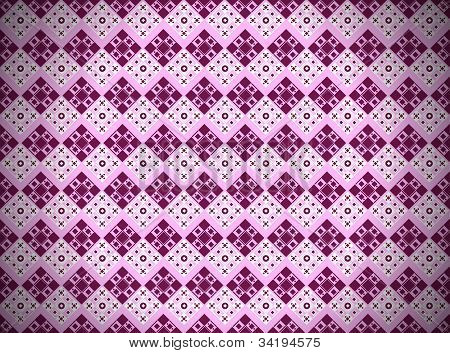 Pattern With Squares