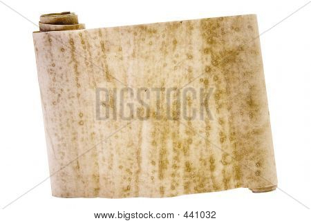 Ancient Chinese Scroll W/ Path
