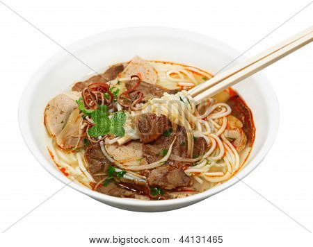 Beef Hot Sauce Noodle