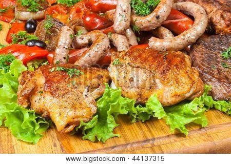 Grilled Ham Cold Cuts