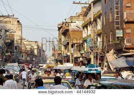 Raja Bazaar In Rawalpindi, Pakistan
