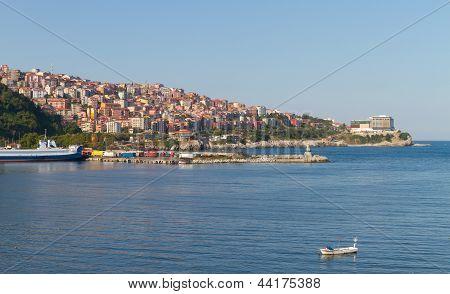 Zonguldak City And Port