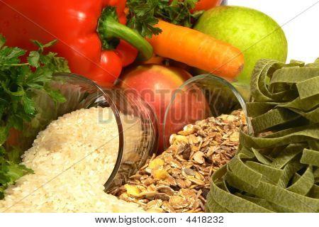 Vegetarian Food Close Up