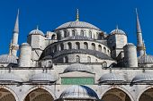 Sultan Ahmet Blue Mosque from Istanbul Turkey poster