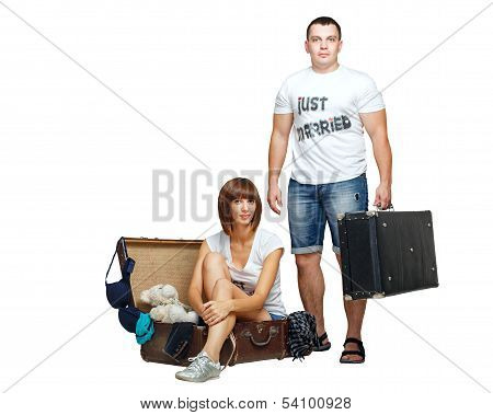 Newlyweds Collect Things On Their Honeymoon