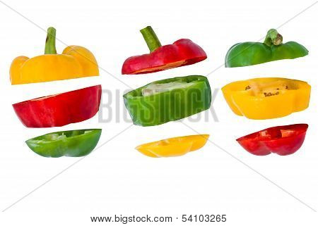 Bell Pepper Slices .paprika