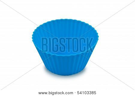 Blue empty cup cupcake release