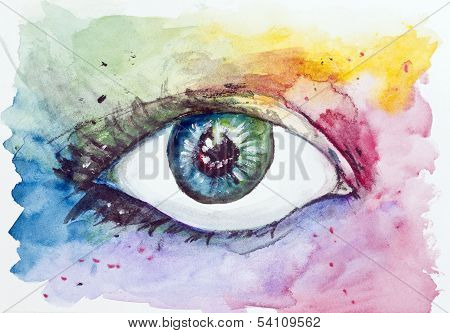 Magic Space Fantastic Eye