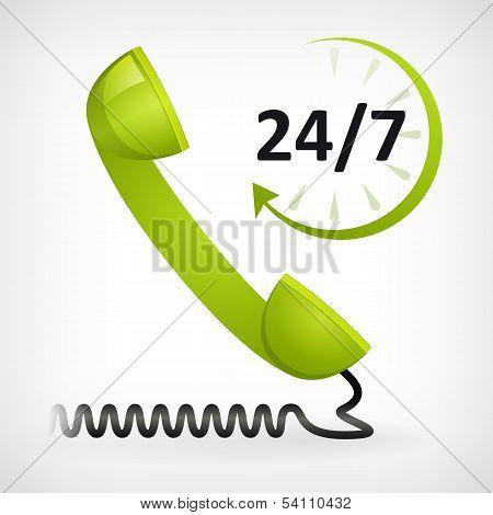 Call Us Twenty Four Hours