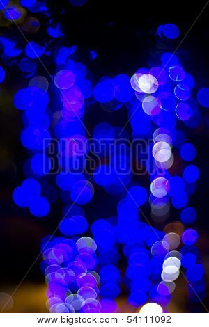 Blue  Bokeh 4