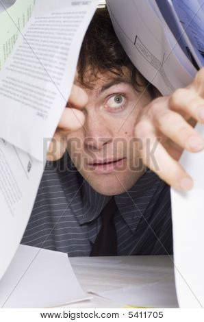 Man And Paperwork