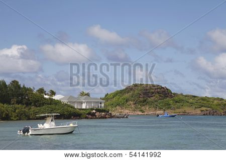 Grand Cul de Sac Bay at St. Barts, French West Indies