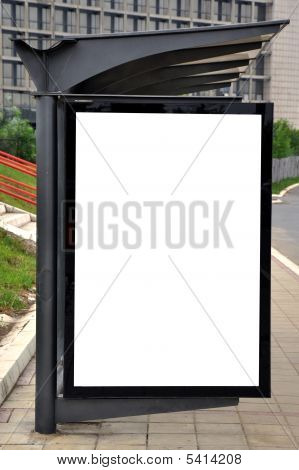 Autobusová a tramvajová zastávka