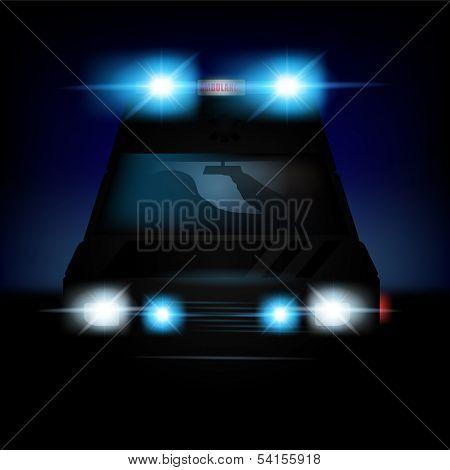 Vector Dutch Ambulance