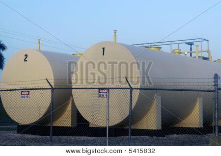 Diesel Fuel Storage Tanks